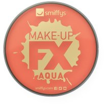 Smiffy's Make-up Fx Aqua Face And Body Paint Water Based, 16ml - Orange - Fancy -  face paint body fx fancy dress smiffys make up orange costume 16ml