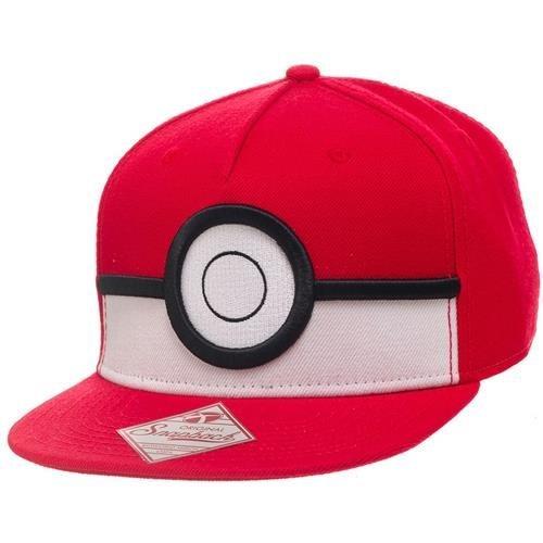Pokemon 3D PokeBall Snapback Baseball Cap