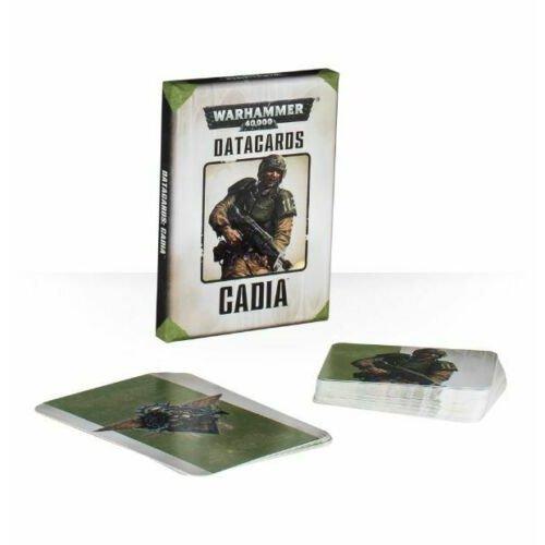 Games Workshop - Warhammer 40,000 - Datacards: Cadia