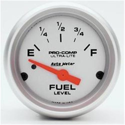 AUTO METER 4314 2.06 In. Mini Ultra Fuel Level Gm