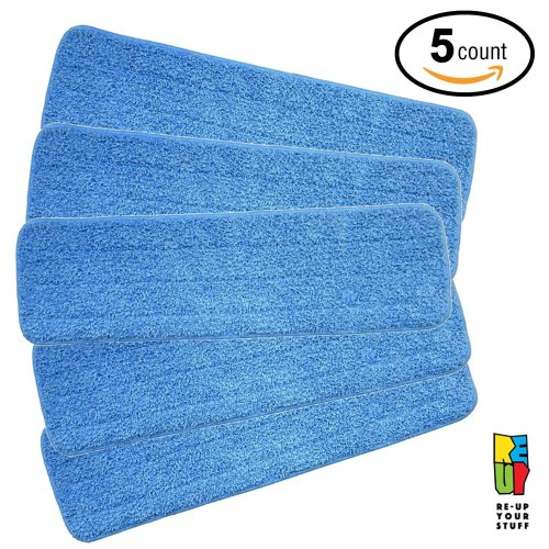 Re-Up Microfibre Spray Mop Replacement Heads (5 Pack)
