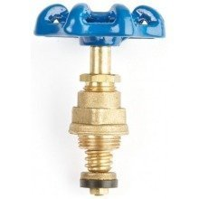"3/4"" Brass Wheel Gate Valve Head Replacement for Water and Heating Purposes"