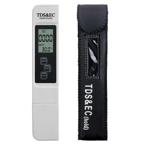 MacDoDo Digital Water Quality Tester,Professional TDS,EC and Temperature Meter