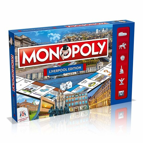 Liverpool Monopoly Board Game | Liverpool Edition Monopoly