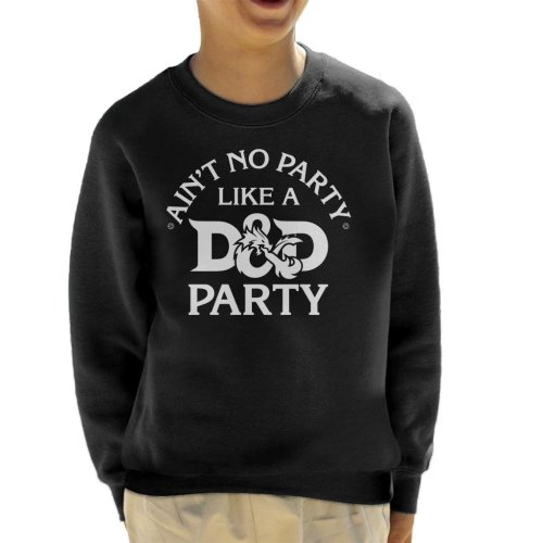 Aint No Party Like A Dungeons And Dragons Kid's Sweatshirt