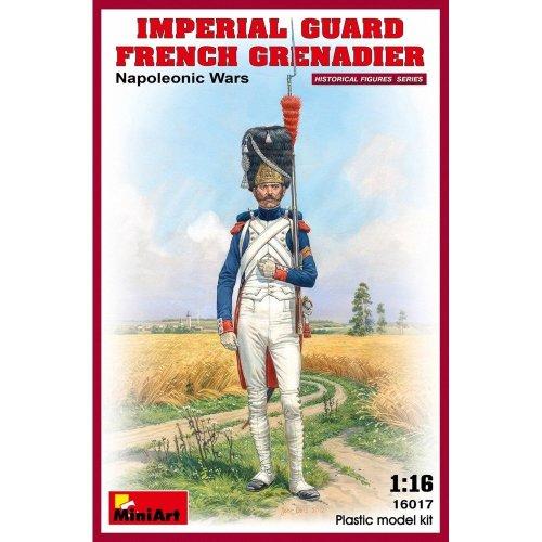 Min16017 - Miniart 1:16 - Imperial Guard French Grenadier Napoleonic Wa