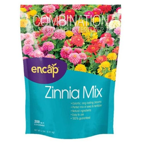 Encap 10806-6 200 Sq. ft. Zinnia Flower Mix