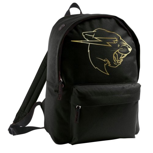 Mr Beast Gold Logo Rider Backpack