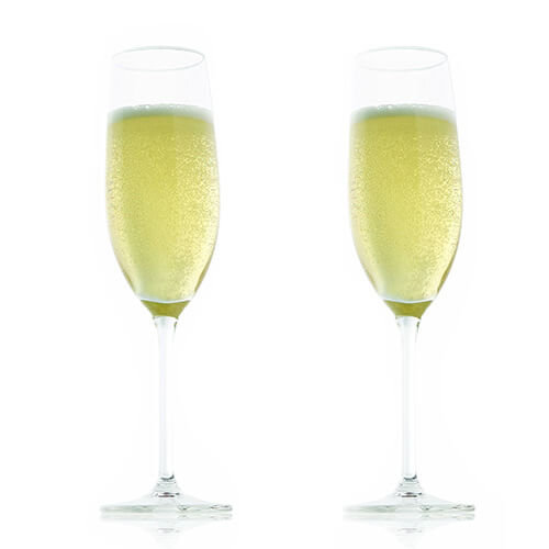 Vacu Vin Champagne Glass (21 cl / 7.25 oz) - Set of 2