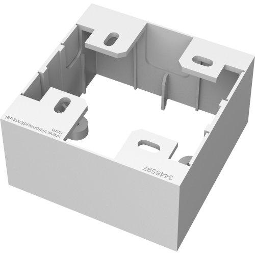 Vision TC3 BACKBOX1G White electrical box