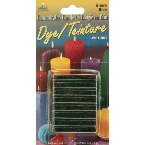 Concentrated Candle Dye .75oz Block-Brown