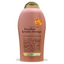 Ogx Conditioner Brazilian Keratin Therapy 19.5oz Bonus Size (2 Pack)