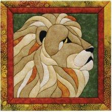 Lion Quilt Magic Kit-Lion