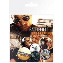 Battlefield Hardline Soldiers Badge Pack