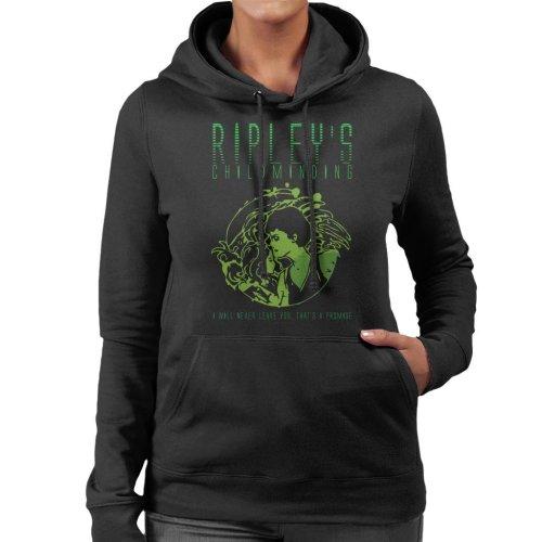 Ripleys Childminding Aliens Women's Hooded Sweatshirt