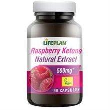 Lifeplan Raspberry Ketone Extract 500mg 90 Caps