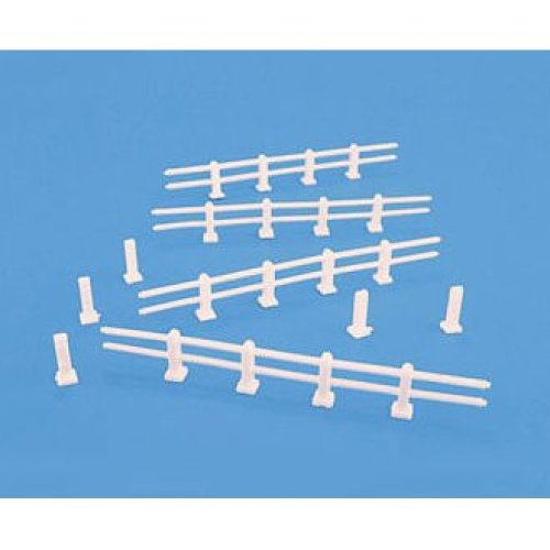 Post and Rail fences - OO/HO Accessories - Model Scene 5027 - free post