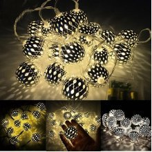 Party Decor Outdoor Fairy String Light Lamp