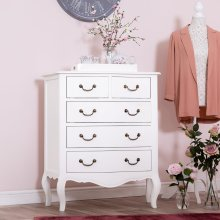 Tuscany Antique White 2 Over 3 Chest