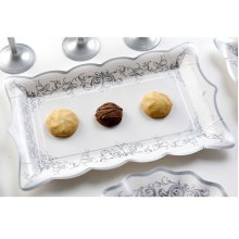 Imperial Silver Tray Card 30 x 18cm 4's