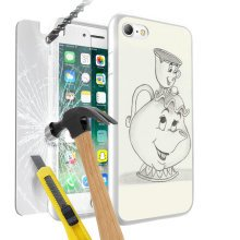 i-Tronixs Disney Mrs Potts Phone Case & Screen Protector - 014