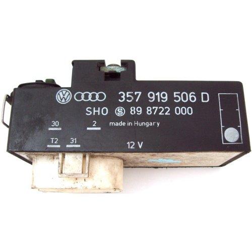 VW Golf Skoda Seat Passat Radiator Fan Control Module ECU 357919506D 898722000