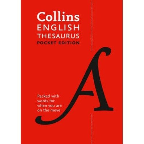 Collins English Thesaurus Pocket Edition