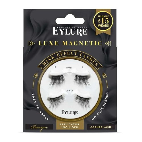Eylure Luxe Magnetic Mink Effect Baroque Corner Lashes