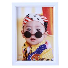 Simple Pure Baby&Kids Picture Frame Photo Frames Plastic Frames,White