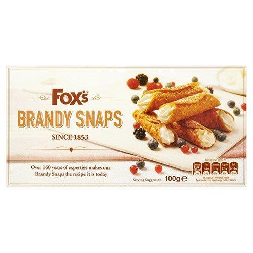 Foxs Brandy Snaps, 100 g