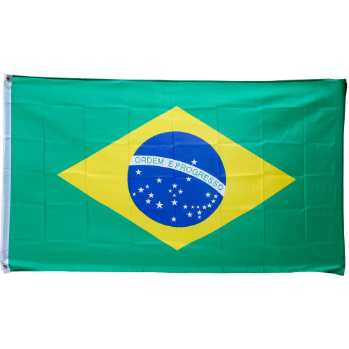 TRIXES Large Brazilian 5ft x 3ft 2016 Rio Olympic Games Flag