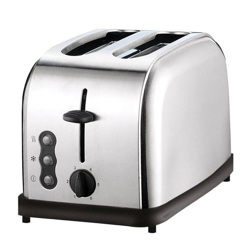 SQ Professional 900 W Two Slice Toaster with 3 Functions and 6 toasting levels - Quartz