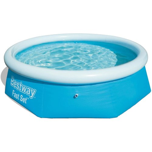 Bestway 2.44m x 0.66m Fast Set Water Paddling Swimming Pool