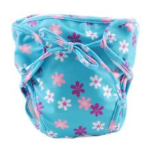 Reusable Swim Diaper Adjustable Absorbent Shower Diapers for Baby Toddler, A20