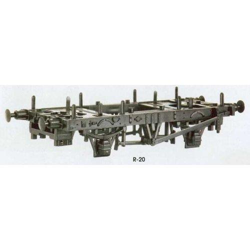 OO wagon kit - 9/10ft Wagon Underframe Kit - PECO R-20 - free post