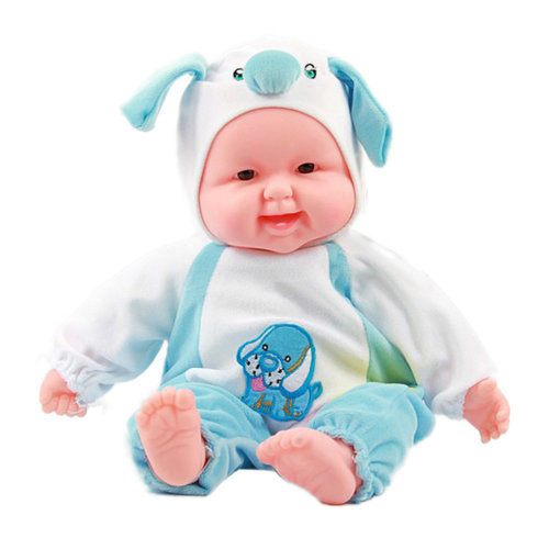 Lifelike Realistic Baby Doll/ Zodiac Doll/ Soft Body Play Doll, Dog Baby Doll