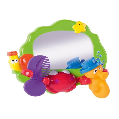 Baby Toy Mirror & Comb | Bath Toy Mirror Playset