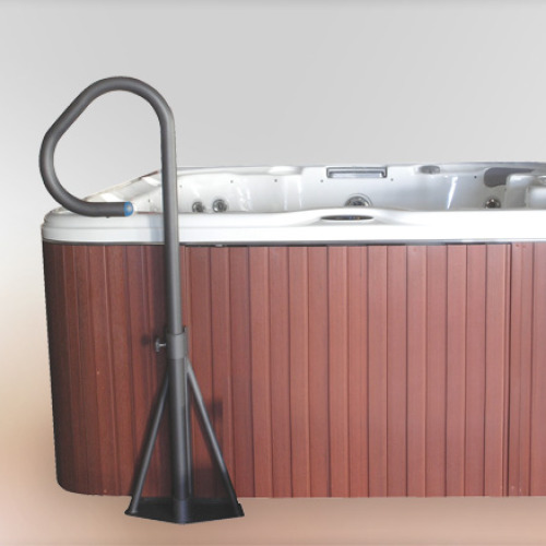 Cover Valet Spa Under-Mount Handrail - For Hot Tubs and Spas - Ease of Access