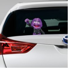 Jackson the puppet Car Funny Joke Novelty Sticker Vinyl Decal Gift Xmas cool