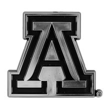 NCAA Arizona Wildcats Chrome Automobile Emblem