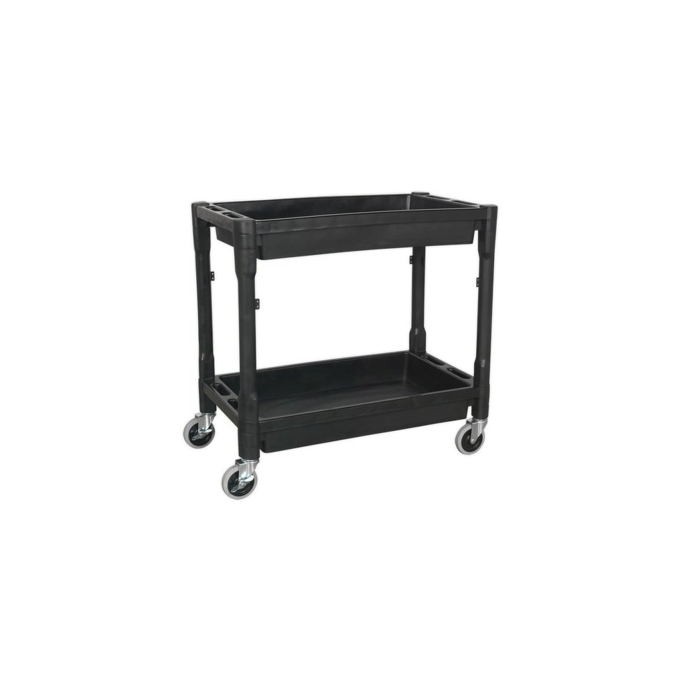 Sealey CX204 Trolley 2-Level Composite Heavy-Duty
