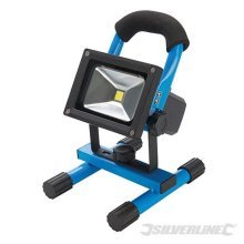 Silverline LED Rechargeable Site Light With Usb 10w