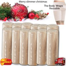 PROFESSIONAL REUSABLE & WASABLE 12 X AID INCH LOSS BODY WRAP BANDAGE 15cmx4.5m