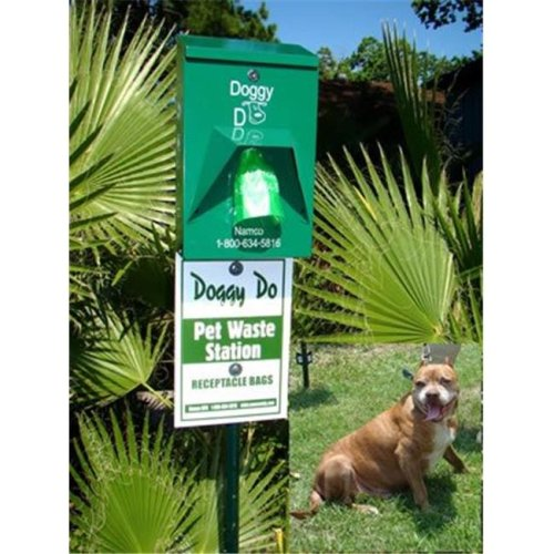 Namco 2129 Doggy Do Pet Waste Station Complete Without Pole