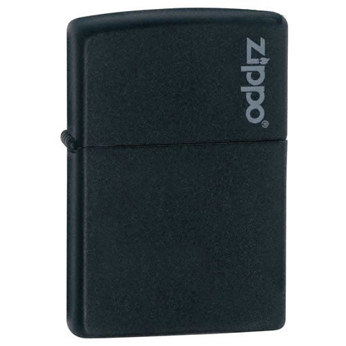Zippo Lighter - Black Matte Design Windproof Lighters