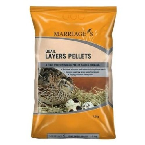 Marriages Specialist Foods Growers Pellets, 7.5kg
