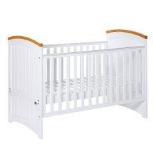 Tutti Bambini Barcelona Cot Bed (white/beech)