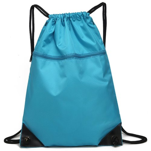 Drawstring Bag Unisex Gym Bag Sport Rucksack Shoulder Bag Hiking Backpack #6