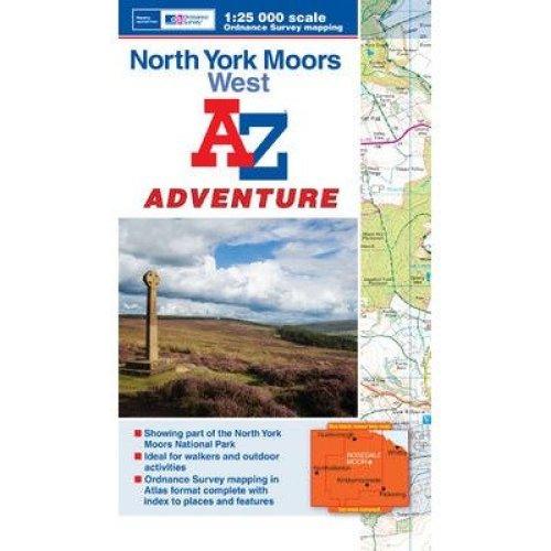 North York Moors (west) Adventure Atlas