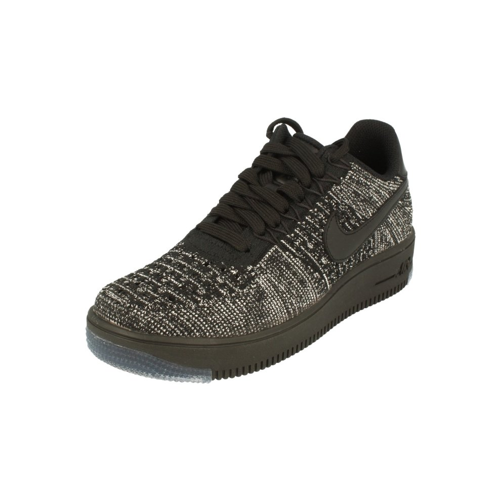 outlet store sale 73ba5 1d331 Nike Womens Af1 Air Force 1 Flyknit Low Running Trainers 820256 Sneakers  Shoes